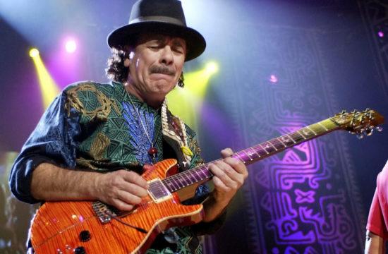 La musica si ferma Carlos Santana